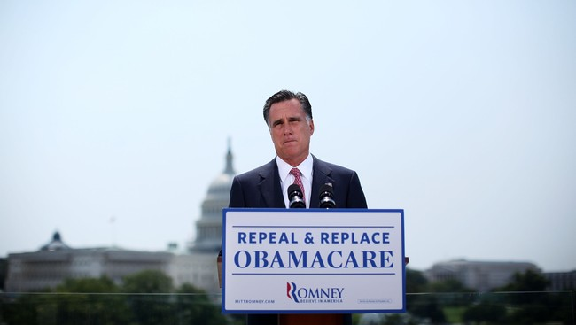 Mitt Romney (Foto: ALEX WONG/Afp)