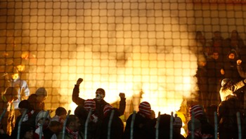 Fans of Spartak Moscow