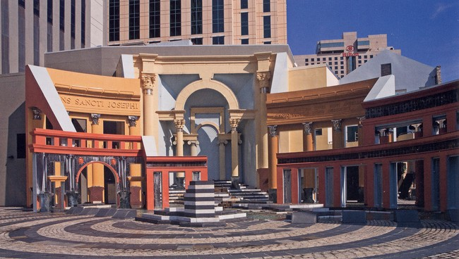 Charles More: Piazza d'Italia i New Orleans, Louisiana 1976 - 9. (Foto: Charles Moore Foundation)