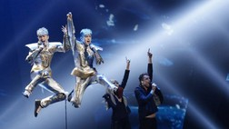 Eurovision song contest 2012 Irland: Jedward - Waterline (Foto: Thomas Hanses (EBU))