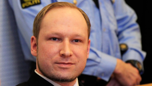 Anders Behring Breivik (Foto: SCANPIX NORWAY/Reuters)