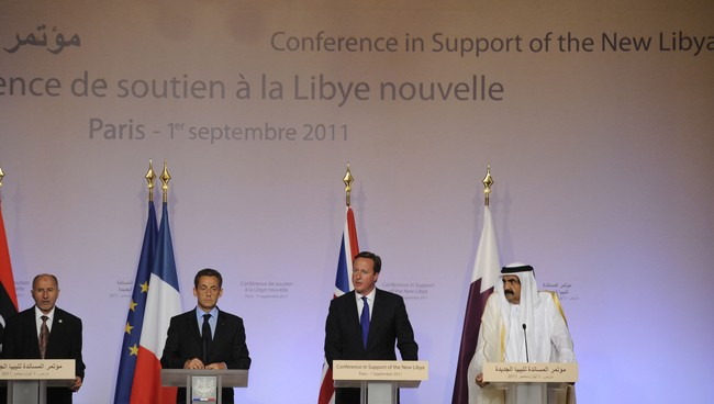 FRANCE-LIBYA-CONFLICT-DIPLOMACY - (Foto: LIONEL BONAVENTURE/Afp)