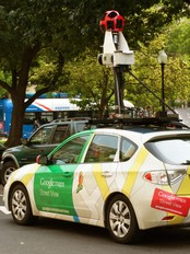 Google Street View (Foto: PAUL J. RICHARDS/NTB Scanpix)