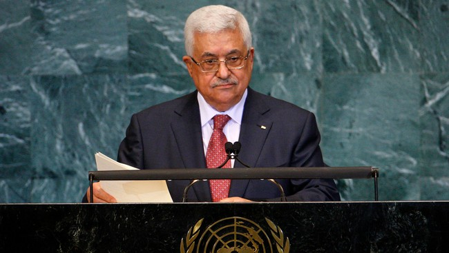 Mahmoud Abbas i FN (Foto: CHIP EAST/Reuters)