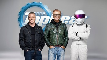 Matt LeBlanc, Chris Evans og The Stig