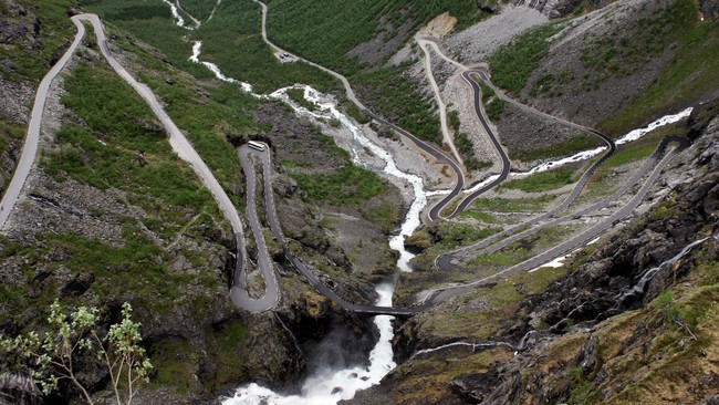 Trollstigen i Mre og Romsdal (Foto: Kallestad, Gorm/SCANPIX)