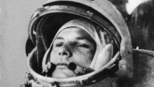 Jurij Gagarin ble det frste menneske i verdensrommet.