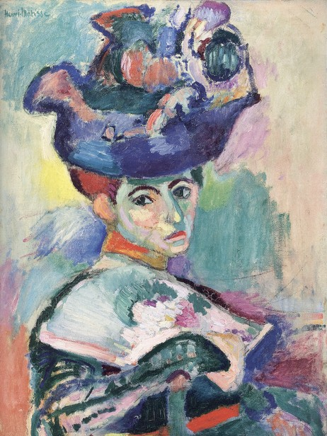 Matisse: Kvinne med hatt (1905). (Foto: San Fransisco Museum)