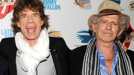 Mick Jagger og Keith Richards (Foto: Evan Agostini/Ap)