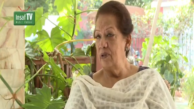Zahra Shahid Hussain  (Foto: Insaf TV)