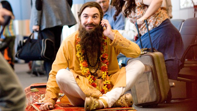 Mike Myers i 'The Love Guru'. (Foto: Photography by: George Kraychyk)