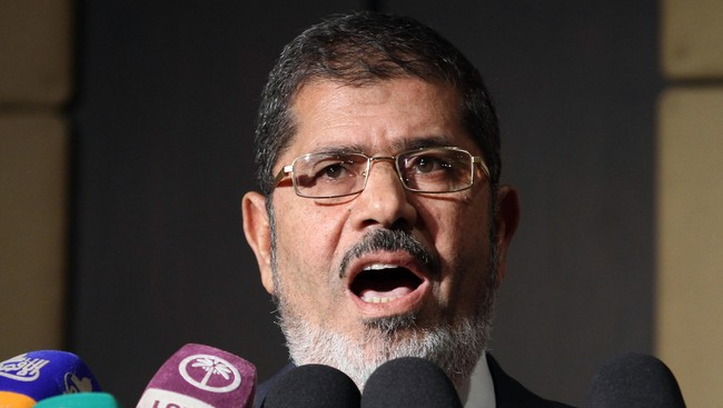 Mohamed Morsi (Foto: -/Afp)
