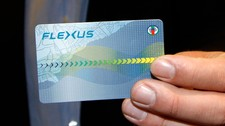 Det nye elektroniske billettsystemet Flexus (Foto: Aas, Erlend/SCANPIX)