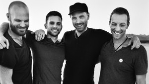 Coldplay - stort band i lite amfiteater