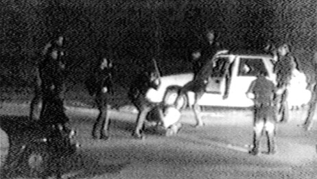 Rodney King-saken (Foto: George Holliday/Ap)