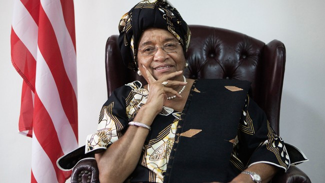 Ellen Johnson Sirleaf (Foto: Finbarr O'Reilly/REUTERS)