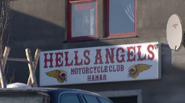 Hells Angels Hamar (Foto: Lars Erik Skrefsrud/NRK)