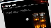 Doping multimediefortelling (Foto: Skjermdump: NRK.no)