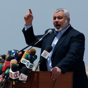 Ismail Haniyeh er leiar for Hamas p Gazastripa (Foto: Hatem Moussa/Ap)