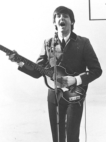 Paul McCartney i 1964