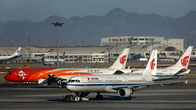 Air China-fly (Foto: DAVID GRAY/Reuters)