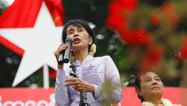 Aung San Suu Kyi (Foto: STAFF/Reuters)