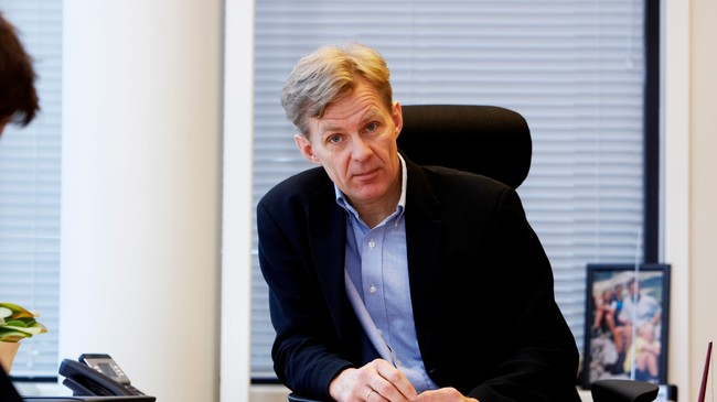 Jan Egeland (Foto: Poppe, Cornelius/SCANPIX)