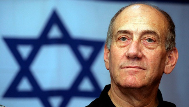 Ehud Olmert (Foto: POOL/REUTERS)