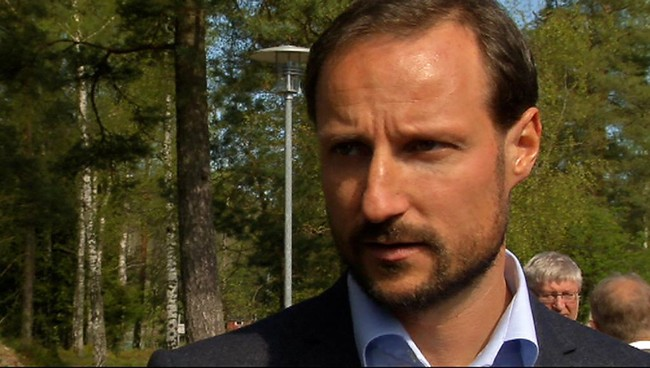 Kronprins Haakon. (Foto: Per Foss/NRK)