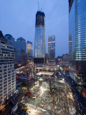 Sept 11 WTC Rebuilding «One World Trade Center» (Foto: Mark Lennihan/Ap)