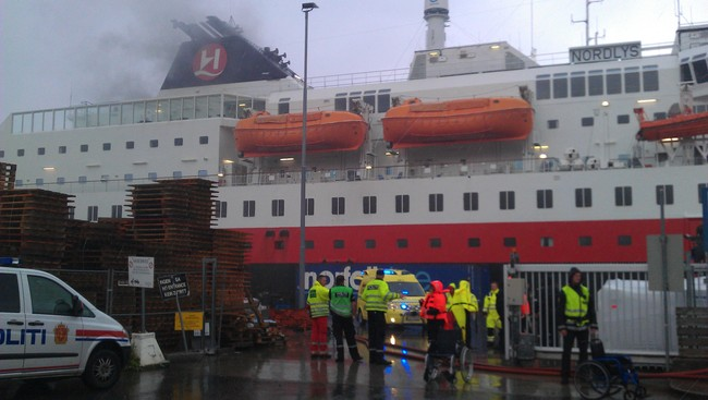 Two Dead In Cruise Ship Fire  NRK Norge  Oversikt Over