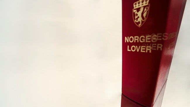 Norges lover (Foto: Nadia Frantsen/NRK)