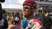 Hushovd etter Paris-Roubaix - Created by InfoDispatcher