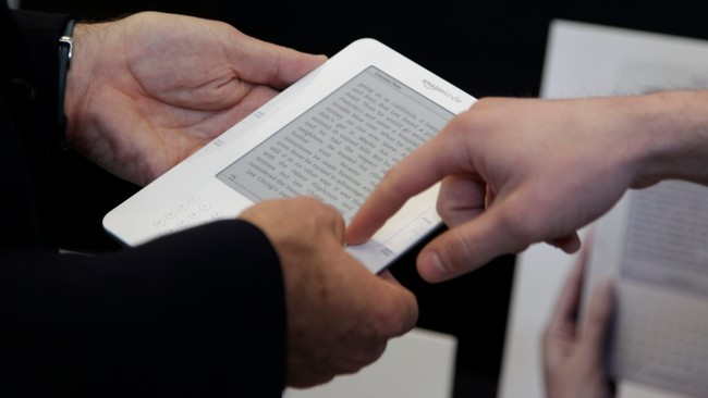 Kindle lesebrett (Foto: Ted S. Warren/Ap)