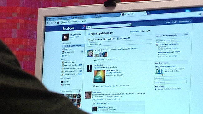 Facebook (Foto: Remi Sagen/NRK)