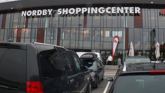 Nordby Shopping Center (Foto: Rainer Prang/NRK)