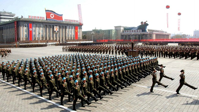 Nord-Korea (Foto: KCNA/Reuters)