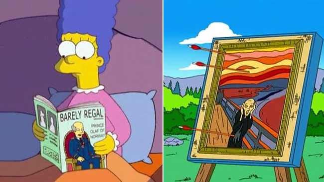 Norske referanser i The Simpsons (Foto: 20th Century Fox)