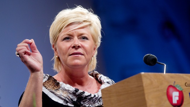 Siv Jensen (Foto: Lien, Kyrre/Scanpix)