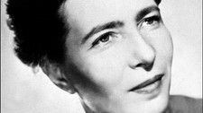 Simone de Beauvoir (Foto: -/AFP)