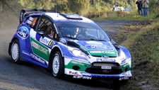 Petter Solberg Rally New Zealand shakedown 2012 (Foto: Geoff Ridder/AP Photo/Rally New Zealand)