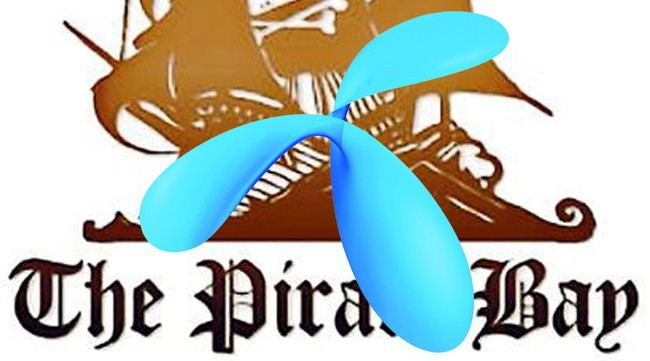 Pirate Bay og Telenor (Scanpix/AFP)