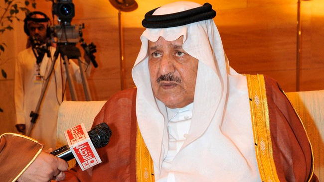 Nayef bin Abdulaziz al-Saud (Foto: HANDOUT/Reuters)