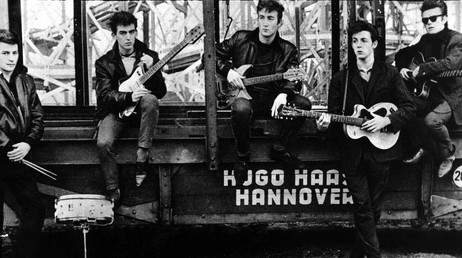 The Beatles i Hamburg, 1961 (SCANPIX )