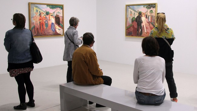 FRANCE-CULTURE-MUNCH - (Foto: PIERRE VERDY/Afp)