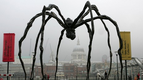 Louise Bourgeois (Foto: NATHAN STRANGE/Ap)