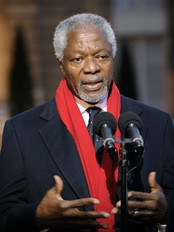 Kofi Annan (Foto: ERIC FEFERBERG/Afp)