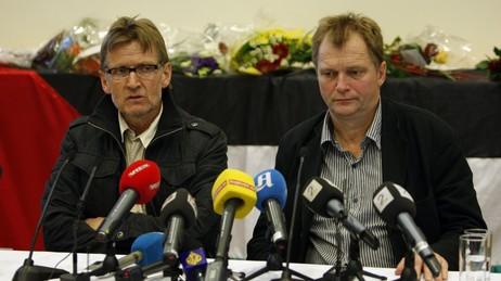 Mads Gilbert og Erik Fosse (Foto: Aas, Erlend/SCANPIX)
