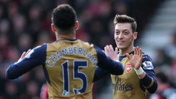 SOCCER-ENGLAND-BOU-ARS/ AFC Bournemouth v Arsenal - Barclays Premier League