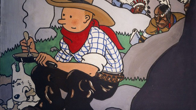 FRANCE-BELGIUM-COMICS-TINTIN (Foto: JOEL SAGET/NTB Scanpix)